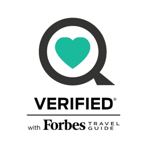 Verified with Forbes Travel Guide - Health and Safety Verification