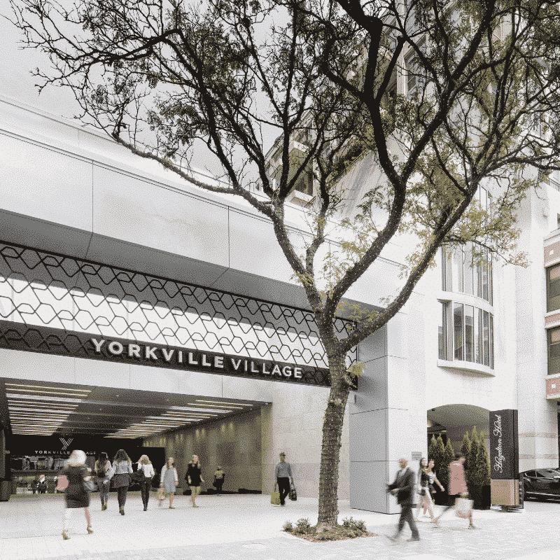 Yorkville Village - Shopping Destination steps away from The Hazelton Hotel